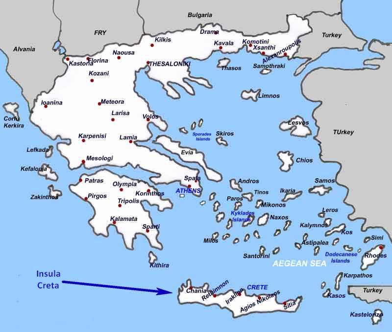 Vacanță In Grecia Foto Amintiri Din Insula Creta Vacante