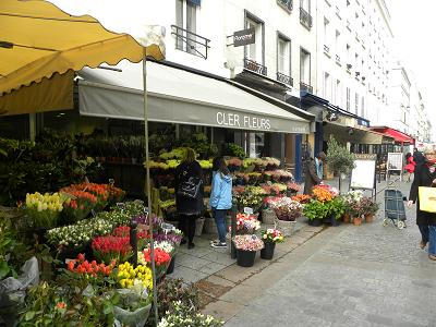 Rue Cler florarie