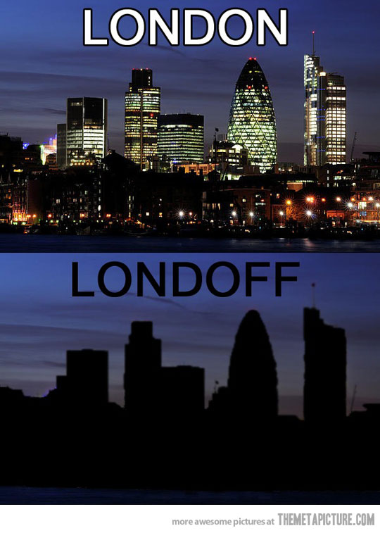 Lond(on) - Lond(off)