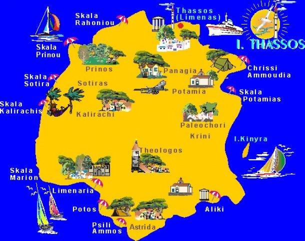 Vacanță In Grecia 5 Lucruri De Făcut In Insula Thassos In Afară